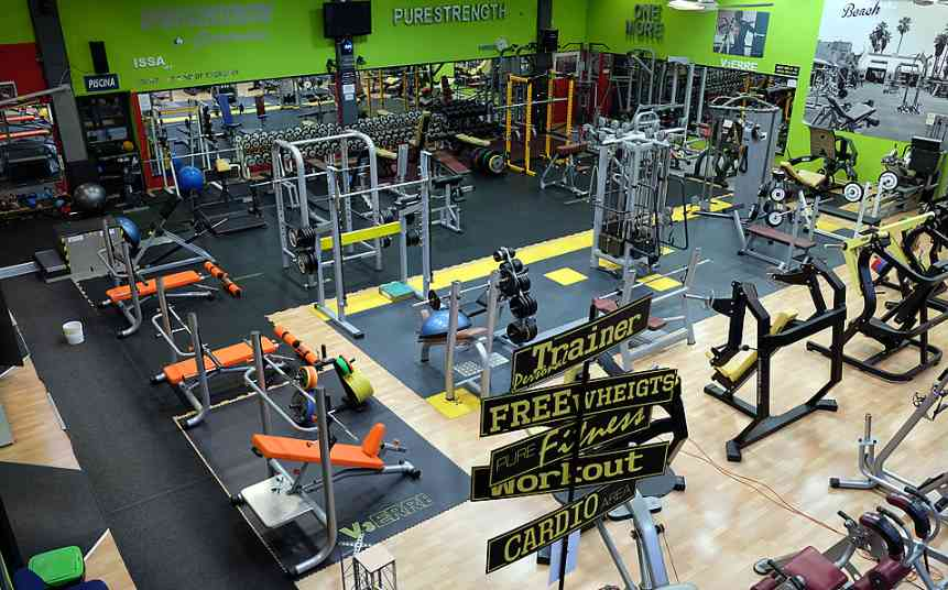Sport Center Gym Palestra